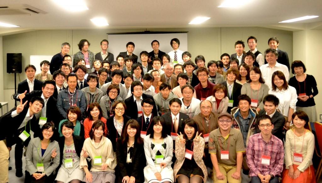 スタッフ・ご支援者の皆様とともに(2012年10月 事業報告会)